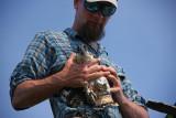 Ben Wurst (Conserve Wildlife) and Osprey