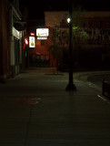 Looking South From Main Street At The Elbow Room