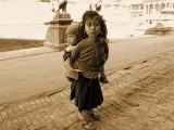 Young child with Baby, Kathmandu, Nepal © 2011