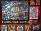 Work from the Master trained in Tibet.
