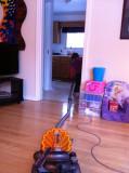 Jordyn cleaning