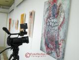 Vernisajul expozitiei 2 in 1 a artistilor Stefania Andronic si Octavian Andronic