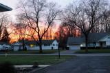 Sunset After A 53F Degree Day