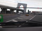 freeway interchange.