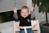 2007, Luca is 1 jaar geworden.