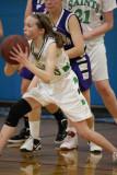 Seton girls modified basketball vs Norwich 01-05-2012