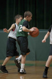 Seton boy youth basketball HALF TIME 01-07-2012