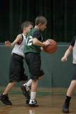 Seton boy youth basketball HALF TIME 01-07-2012