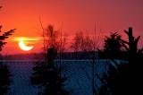 Solformoerkelse  - Eclipse of the sun