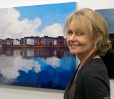 Sally Vogt and her Art