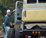 Tom  Rossi and 1952 Truck