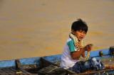 peuple Khmer lac tonlé sap