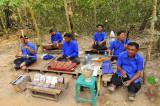 Musiciens cambodgiens victimes de mines antipersonnelles