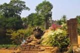 Le Bakong vu des jardins