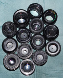 A group of 45mm-58mm primes various ages