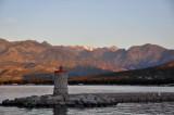 Sunset seen from Calvi