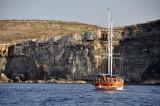 Coast of Comino island