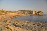 Late sun in Dwejra Bay