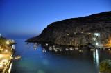 Xlendi Bay at dusk