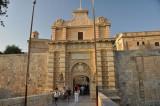 Mdina: city gate