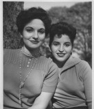 Aida Ferrer and Louise Rivera
