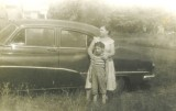 My dad's 1951 Buick Special at Spanish Camp; July, 1953