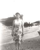 Carmen Murillo (Peter Quiñones' mother)  on Barat's Beach