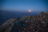 Moon rise from Tochal