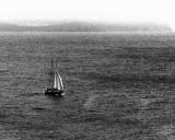 Sailing along the coast of Avalon