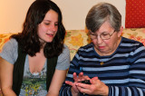 Emily Introduces Mom to the iPhone