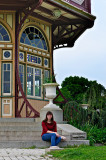 Anne at the Pagoda