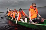 Volunteers on the Lake