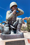 Navaho Code Talker Monument