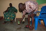 Pouring a Libation for the Ancestors