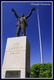 Ireland - Dublin - Jim Larkin and the Spire
