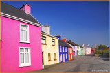 Ireland - Co.Cork - The colourful village of Eyeries