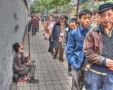 china blind performer