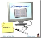 My Drawing ~ Knowledge is power