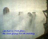 Foggy morning in Shanghai