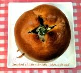 Smoked Chicken Brisket Cheese Bread