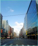 Nanjing East Road, Section 4 in Taipei city