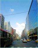 Najing East Road, Secction 4 in Taipei City