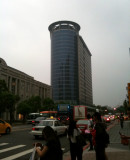 Crossed the Street at Shinyi District Taipei City