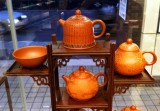 Teapots and Cup