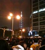 Toward Taipei 101