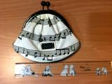 Moschino Musical Note Purse