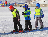 Children want to become a ski racer