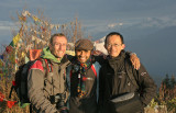 Poon Hill we made it by sunrise
