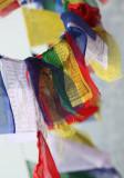 Prayer flag in colour