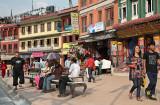 Houses surrounding Bodhnath